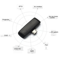 Wholesale Six colors Universal Wireless Infrared Remote Controller Adapter for OTG Android Mobile Cellphone