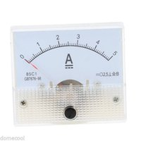 Wholesale DC A Pointer type Analog Ammeter Current Meter Convenient Carrying Mini