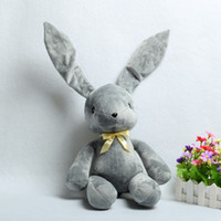 Wholesale 30cm Anime Yosuga No Sora Rabbit Toys Gray Soft Stuffed Long Ears Dolls Cosplay Props Gifts