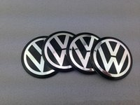 car accessories logo - 3D Car Badge Fit For VW Volkswagen Wheel Center Hub Cap Sticker Durable mm Logo Brand Emblem Car Accessory M Anti Fade Wheel Decoration