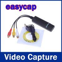 Wholesale Easycap USB Video audio Capture Adapter USB Video Adapter Capture Card