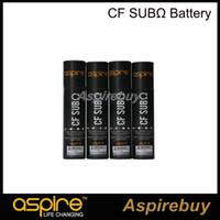 aspire rechargeable - Original Aspire CF Sub Ohm Battery ohm Authentic Aspire mAh Rechargeable A Carbon Fiber Mod Battery DHL Free