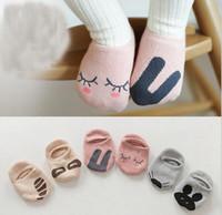 baby rats - Unisex Baby socks floor sock baby boys socks girls kids Children cutu animal rabbit rat bear pattern socks cotton JIA559