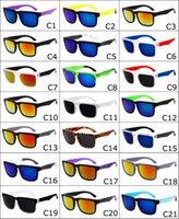 Wholesale 100pcs Colorful KEN BLOCK Sunglasses Dazzling Multicolor Reflective Sunglasses Helm Sports Eyewear Gafas Goggles
