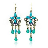 lots costume jewelry - Costume Jewelry Traditional Butterfly Earring E1009 Pairs Mixed Colors