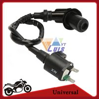 Cheap DC12v Motorcycle Racing GY6 Ignition Coil for 50cc 125cc 150cc Scooter ATV Moped Go-Kart Pit Bike order<$18no track