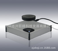 Wholesale Maglev display factory direct side suspension universal Showcase degree rotating magnetic levitation custom