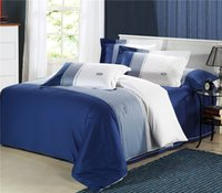 Cheap Wholesale of 100% cotton Embroidery bedding set cotton duvet cover flat sheet pillowcase  bed linen quilt cover suite(WDN202)