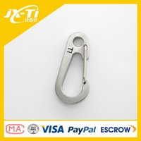 Wholesale JIAXINTI Titanium Carabiner mm Length Hook Key Chain Quickdraw
