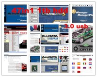 Wholesale 47in1 alldata and mitchell software alldata mitchell on demand ATSG vivid workshop ELSA med heavy truck tb hdd Big promotion