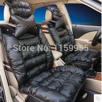 purple car seat covers - car seat thickening winter thermal seatpad car seat leather Chinese brand of high grade leather car seat cover car seat cover