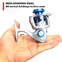 Wholesale MINI Small fishing reels FF150 bb Spinning Fishing Reel Fish Wheel fly fishing spinning reel Metal rocker arm