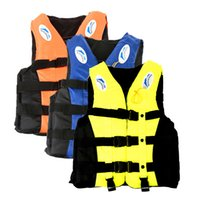 Wholesale Lowest Price colours Sport Survival Universal Adult Swimming Polyester Foam Life Jacket Vest Whistle Foam Prevention Flood M