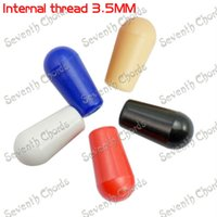Wholesale 10 M3 Plastic Toggle Switches Knobs Cap Tip For Electric Guitar Internal Thread mm Colors Can Choose