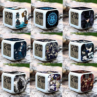 american butler - Black Butler Sebastian shire cartoon alarm clock Young students watch the alarm clocks Office worker Table Clocks