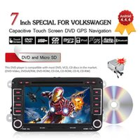 africa phone card - 7 quot Din Android Touch Screen Car DVD Player for VW with GPS G WIFI BT Radio Stereo Free G card Map