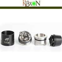 bear proof - Authentic SMY Totem RDA Atomizer Super Wide Bore Drip Tip Explosion proof Oil Structure Cool Wolf Totem Logo Legant and Concise Shape