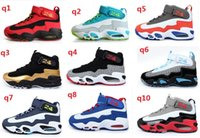 Wholesale 12 color cheap Discount Mens Griffey Jr Basketball Shoes Brand Ken Griffs Mens Athletic Sneakers dropshipping