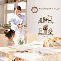 Wholesale set Large Size Inch Transparent PVC KItchen Supplies Sticker For Kitchen Decoration Kitchen Wall Tile Stickers