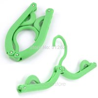 Wholesale Home Living Bathroom Accessories Clothes Holder Foldable Laundry Hanger Hanging Hook for Clothes XJJ0104