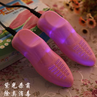 Wholesale Manufacturers selling purple dry shoes for new anti wet sterilization deodorization shoe dryer professional baking shoes