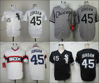 Wholesale Chicago White Sox Michael Jordan Baseball Jersey Cheap Rugby Jerseys Authentic Stitched Size