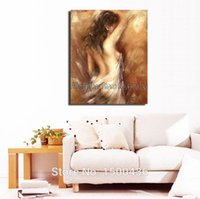 nude women oil painting - Sexy Back Of Woman High Quality Abstract Nude Oil Painting On Canvas Home Decoration Modern Wall Art Picture Piece Set
