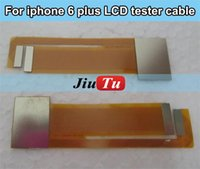 Cheap For iPhone 6G 6 plus LCD Touch Digitizer Screen Testing Test Tester Flex Connector Cable Free shipping 5 pcs lot