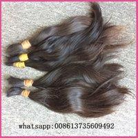indian remy hair bulk - long hair kg great quality raw virgin indian remy human hair bulk can bleach all colors natural hair