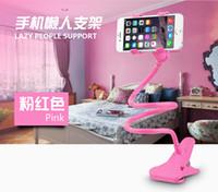 Wholesale 360 Rotating Flexible Lazy Bed Holder Desktop Tablet Car Long Arm Holder Stand Selfie Mount Bracket for Iphone6 plus s Smartphone inch