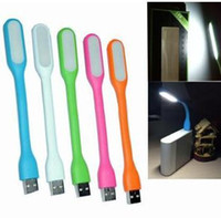 Wholesale LED USB Lamp Light Portable Flexible Led Lamp for Notebook Laptop Tablet PC USB Power colors drop shipping