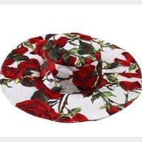 girls hats - New Cute Flower Wlmonsoon Flower Sun Hats Kids New Fashion Floral Summer Caps Girls Princess Hats Children Sun Hats
