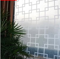 Wholesale Sales Self adhesive cm x cm high privacy protection decorative window film glass sticker for living room