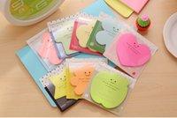Wholesale sticky paper sticky notes designed paper carton paper sticky notes color hot sale
