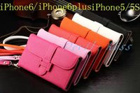 Wholesale iPhone Plus S Vintage Retro Flip Stand Wallet Leather Case With Photo Frame Phone Cover For Apple iPhone
