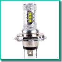 achat en gros de ampoules foglight h3-La nouvelle voiture d'arrivée a mené l'ampoule de brouillard a conduit la lumière légère de voiture phare hb4 a conduit les ampoules de lampe de voiture DC12-24V 80W blanc 6500K Livraison gratuite