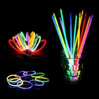 al por mayor collar de flash de la novedad-Collar caliente del color del resplandor de los collares de la pulsera del color del resplandor del LED de la novedad LED de la novedad del juguete LED de la novedad de la novedad del juguete de la novedad LED10