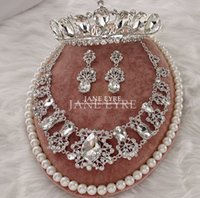 Wholesale 2015 wedding jewelry sets crystal bridal jewelry three pieces cheap Wedding party Jewelry Sets