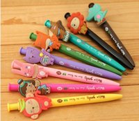 Wholesale 18 OFFSylvanian Families Cute cartoon ballpoint pen pressed Meng things creative gifts pen best holiday gifts for children SQ