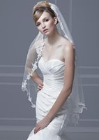 Shoulder Length ivory lace - 2014 Best Selling Tulle Wedding Veil Box Pleated Organza Vintage Lace White Ivory Organza Bridal Mantilla