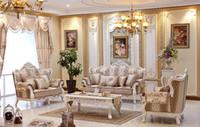 2015 nova frete grátis clássico mobiliário francês sala de estar o novo moderno e confortável sofá de tecido estilo europeu villa sofá luxuoso