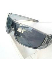 achat en gros de lentille gros sunglass-Batwolf en gros nouveau style hommes sunglasses gris lentille cadre gris Sport lunettes Goggle Sunglasses prestation de epacket.