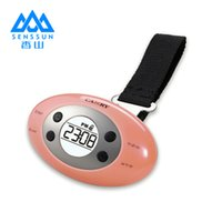 alarms express - Xiangshanan portable express portable electronic scales bedside alarm clock thermometer MaX kg d g