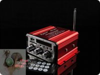 Wholesale Special MA600 Mini Hi Fi Audio Stereo Amplifier Car Motorcycle Speaker Remote Control M7519