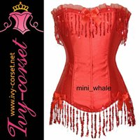 acrylic reflector - solid color corset with Reflector macrame detailing A1207