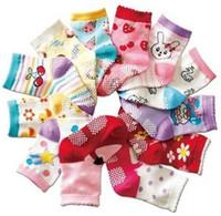 Wholesale fashion comfortable cute animal rabbit girl child socks non slip baby sock pair mix order