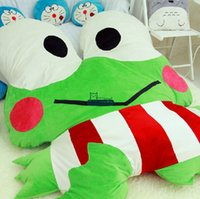 baby bedding frogs - Dorimytrader cm X cm Cartoon Prince Frog Beanbag Soft Funny Giant Bed Carpet Tatami Sofa Nice Gift For Babies DY60319