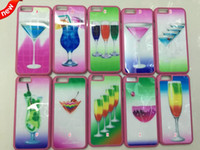 apple juice - Drink Beer Bottle Cup Fruit orange juice Hard PC Plastic Case Mirror face For iphone Plus G G S th Skin Colorful luxury