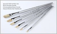 artist paint brushes lot - Golden Maple Professional Bristle Hair Artist Painting Brush for Sale oil paint pinceles pintura chinese brush painting