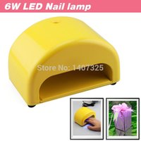 Wholesale New Design Portable W V LED Mini Curing Nail Dryer Nail Art Lamp Care Machine for LED Gel Voice Prompt Gift Package